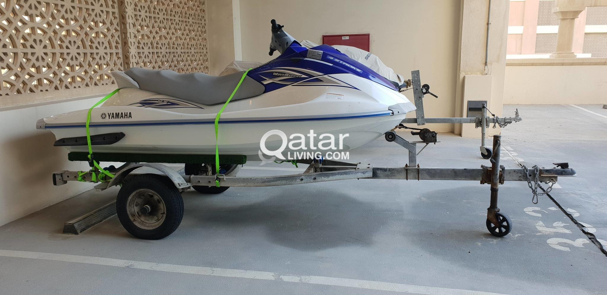 jet ski Yamaha Waverunner 115HP | Qatar Living