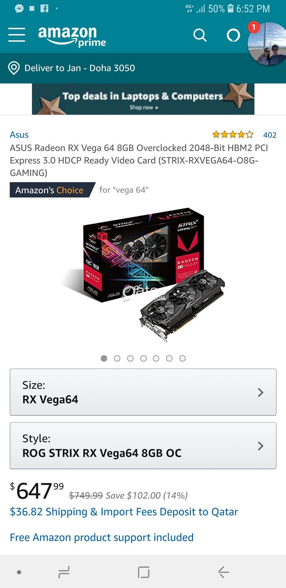 Vega 64 Overclock