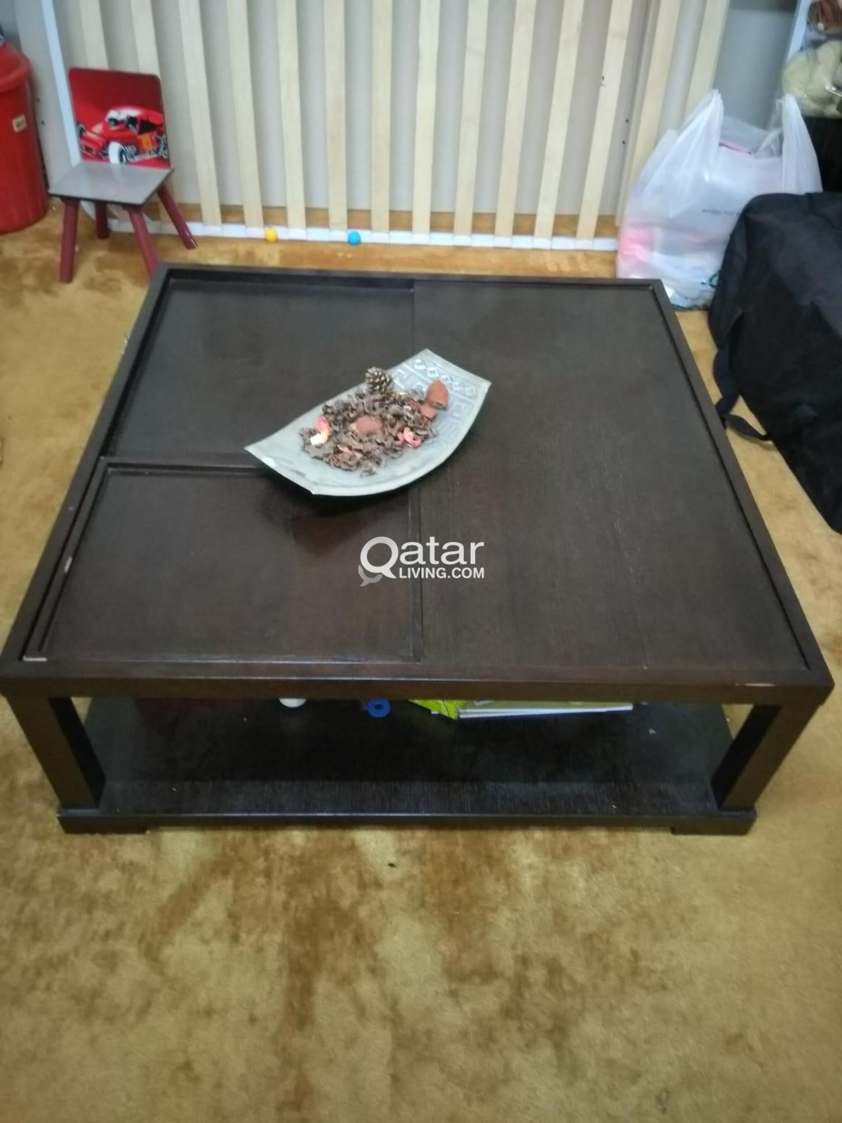 Glass Showcase and Center table for Sale