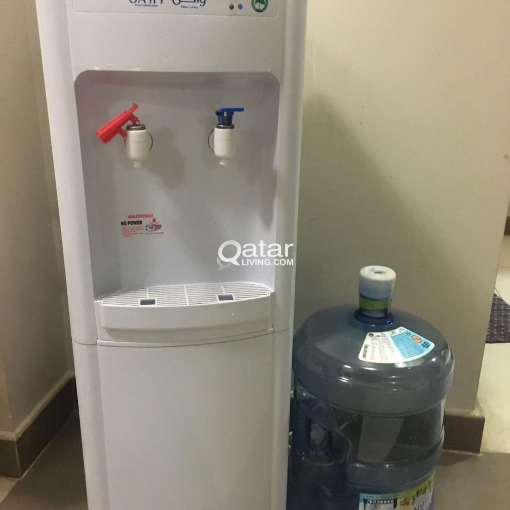 Oasis hot and cool water dispenser | Qatar Living