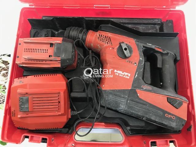HILTI POWER TOOLS (11 sets)   Qatar Living