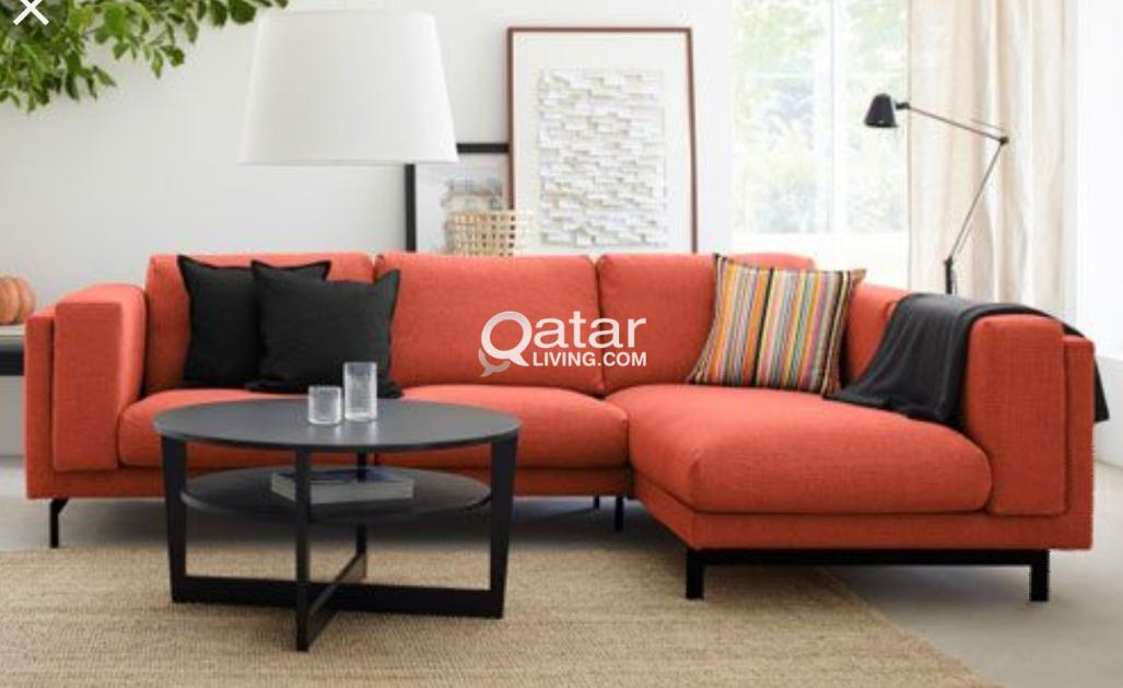 Living LoungeQatar Ikea Nockeby Sofa With Chaise PTkXOwZiu