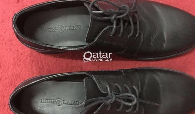 Brand new leather shoes for sale