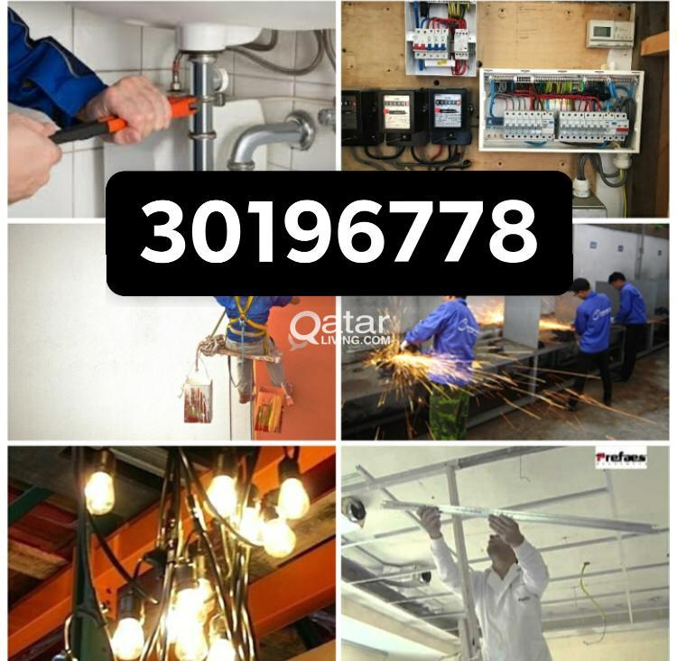 ELECTRIC PLUMBING PAINTING CERAMIC WELDING SERVICE. Please call or whatsapp 30196778