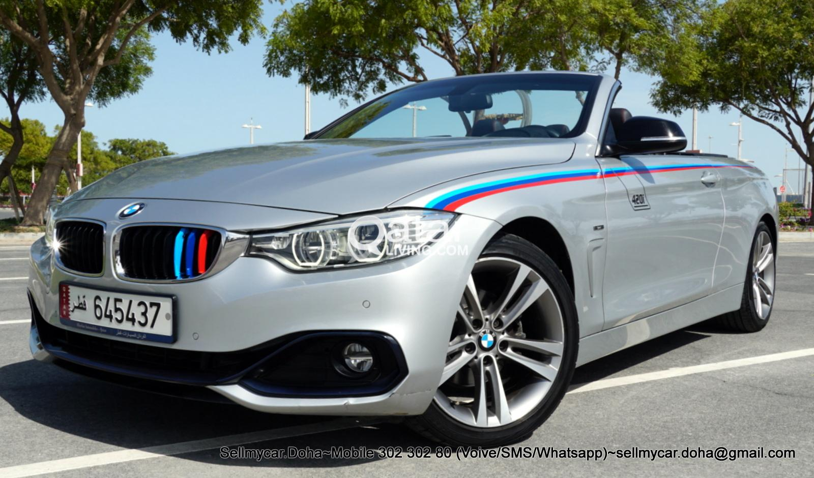 2015 BMW 420i Cabriolet Sport Package (many More Photos Available Upon Request)