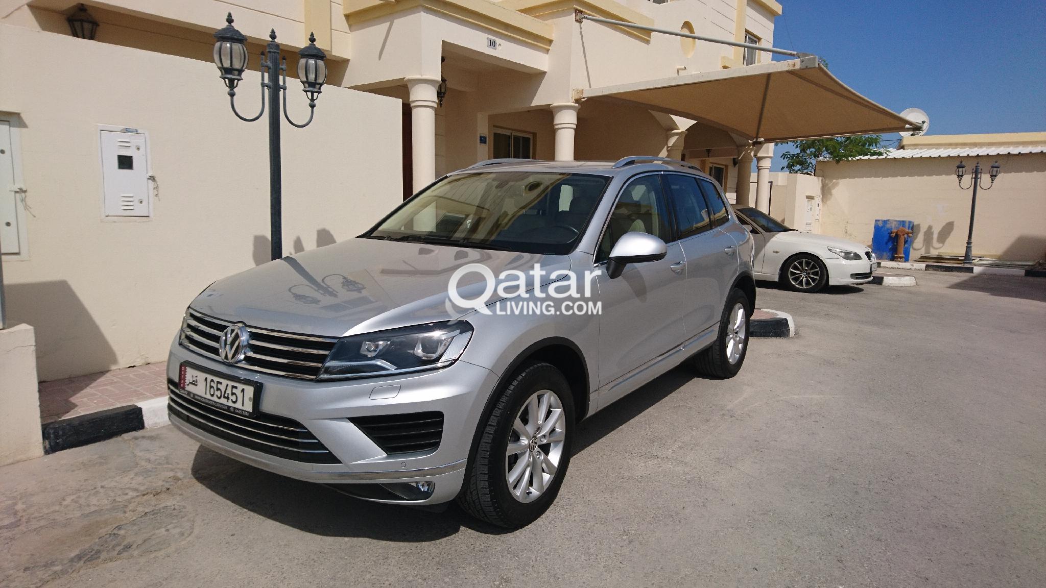 2015 VW TOUAREG under warranty