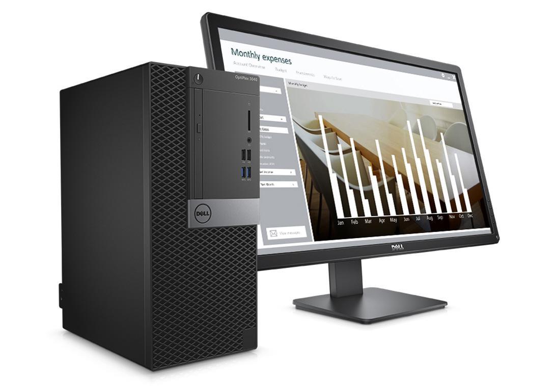 DELL OPTIPLEX 7040 i7-6700 CPU 3.40 GHz-8GB RAM-1T