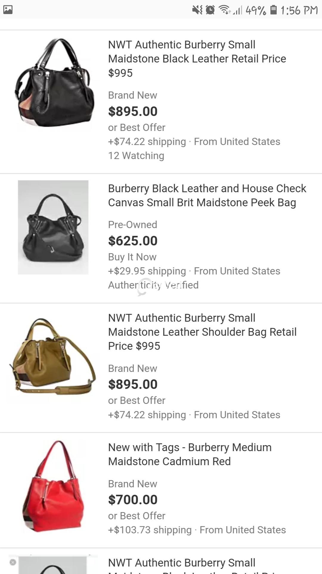 ec4750fa89 title · title · title · title · title · title. Information. Pre-loved  original burberry maidstone tote bag ...