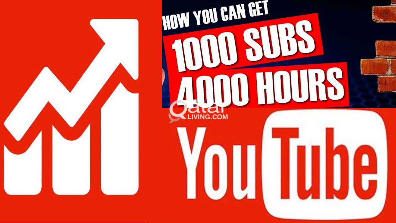 Get 1000 YouTube Subscribers And 4000 Hours Watch Time In 48 Hours
