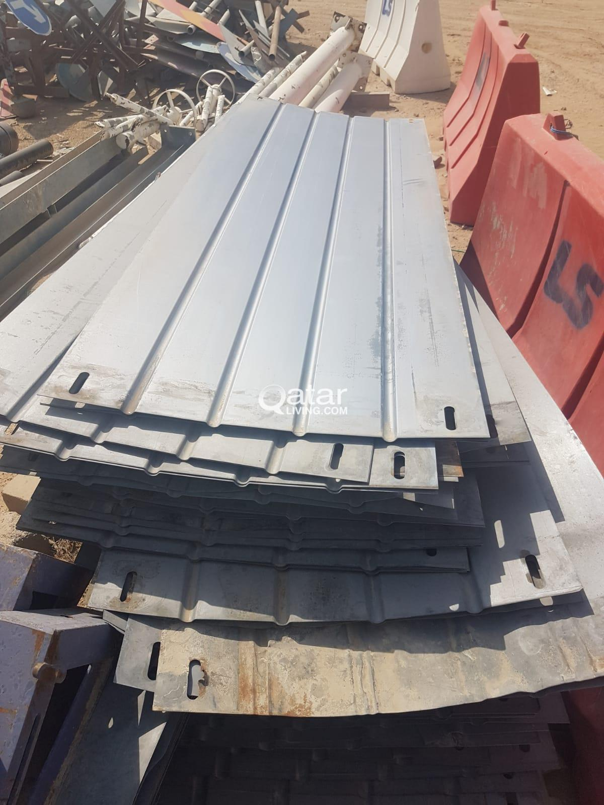 Steel Sheets Used For Sale Good Condition For Fencing Qatar Living