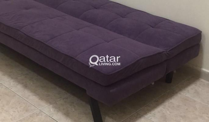 Enjoyable Excellent Condition Sofa Cum Bed For Sale Homesrus Qatar Download Free Architecture Designs Intelgarnamadebymaigaardcom