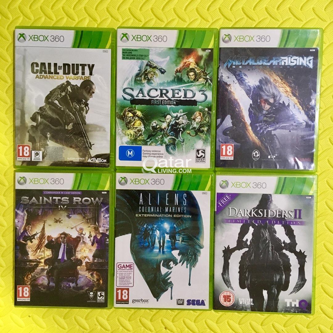 Xbox 360 games Bundle 1 | Qatar Living