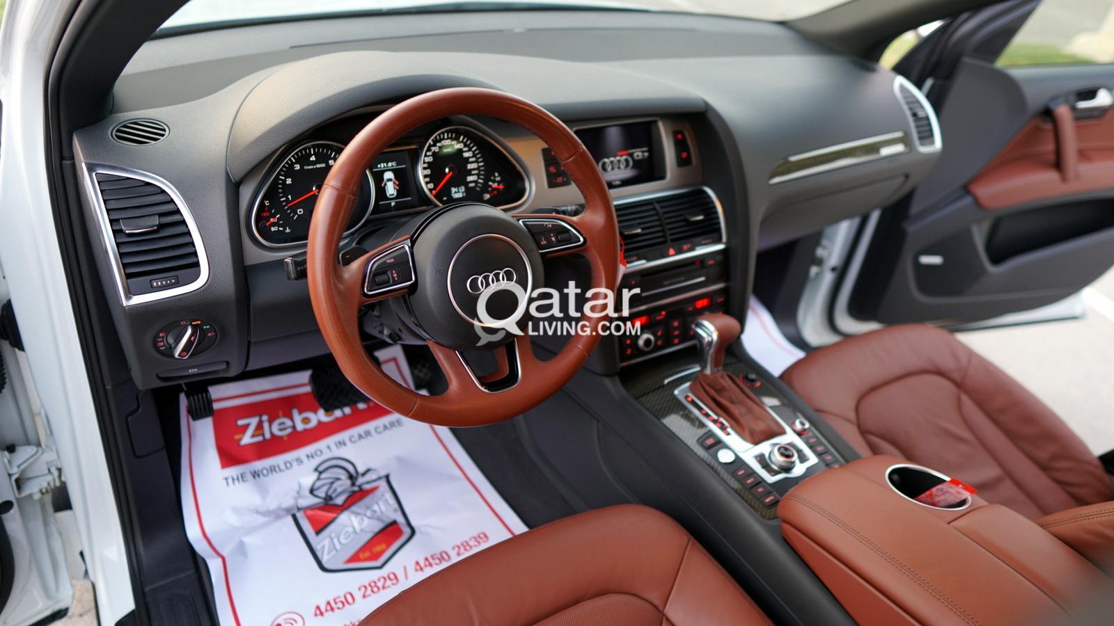 2015 Audi Q7 S-Line Audi Exclusive Pkg + Technology PKG (More Photos Available Upon Viewing)