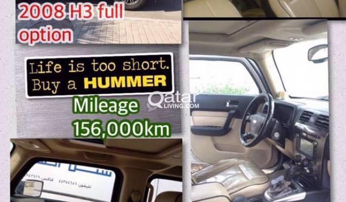 HUMMER H3 2008 FULL OPTION