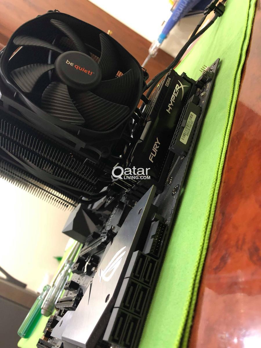 ASUS ROG Gaming RIG (1080Ti+Z370-F+i7 8700K) | Qatar Living