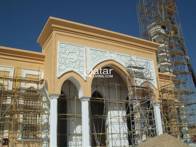 GRC, GRG & Painting WORK call us 66276727   Qatar Living