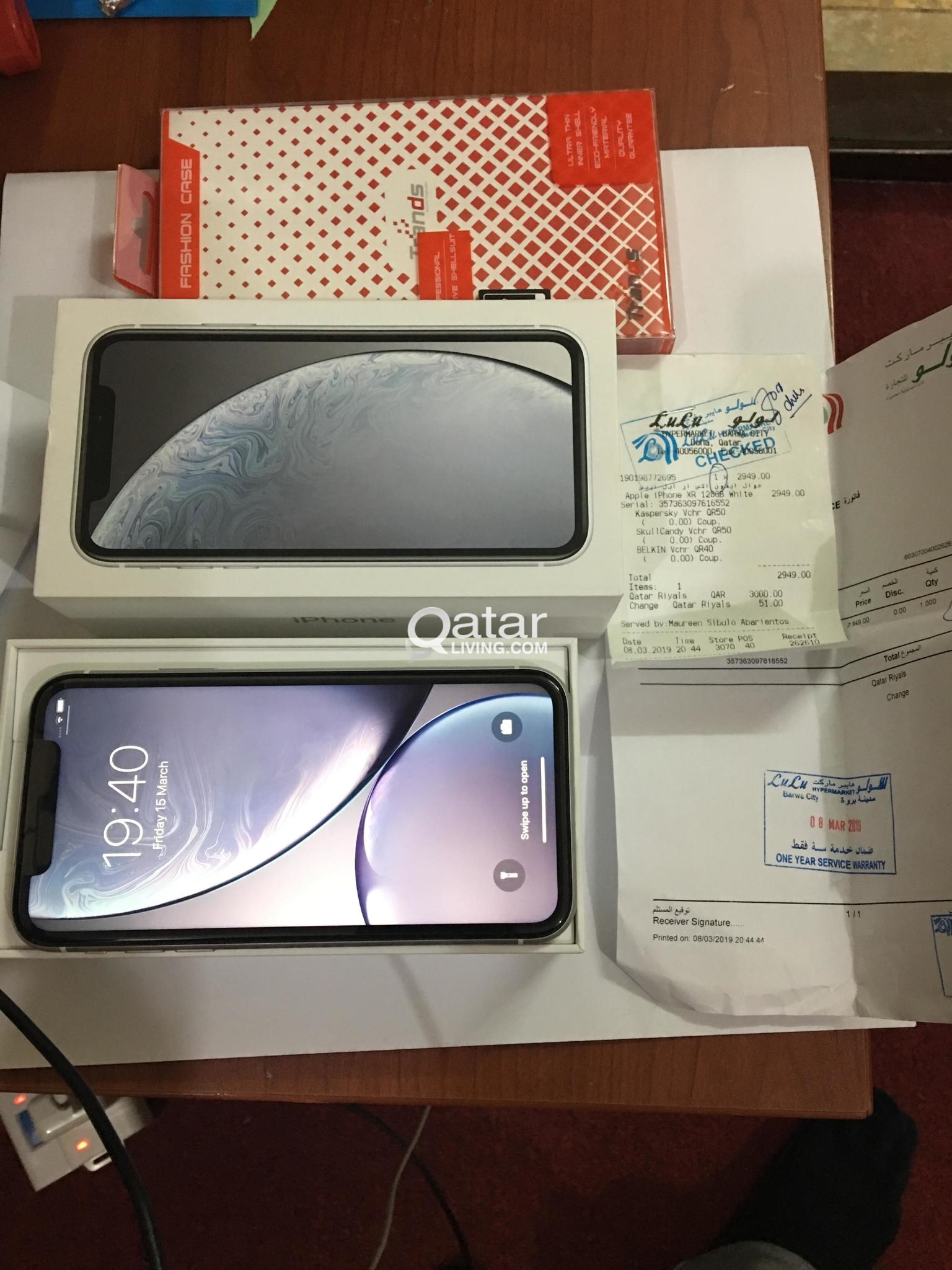 Brand new iPhone XR 128gb White