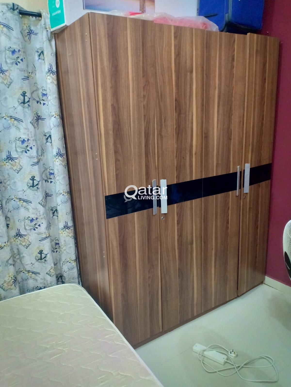 Bed 210 160.Bed Mattress And Wardrobe For Sale Qatar Living
