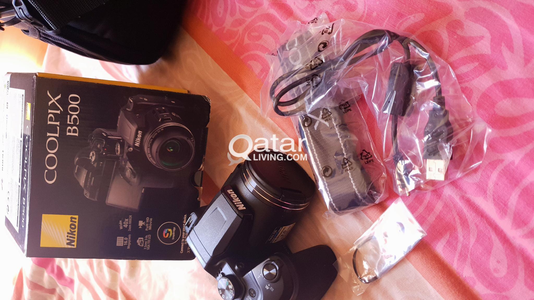 NIKON B500 FOR SALE LIKE NEW | Qatar Living