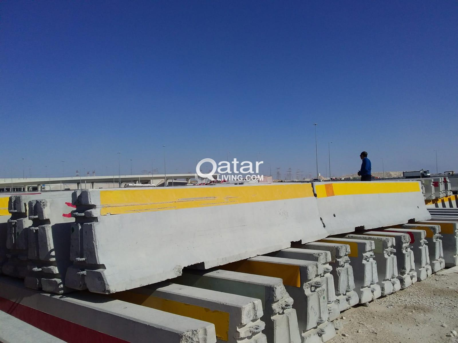 USED CONCRETE BARRIERS 3.8m