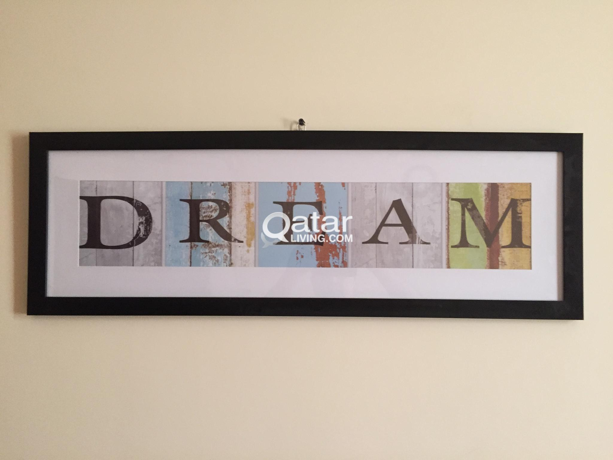 New Dream Black Framed Photgraphic Print