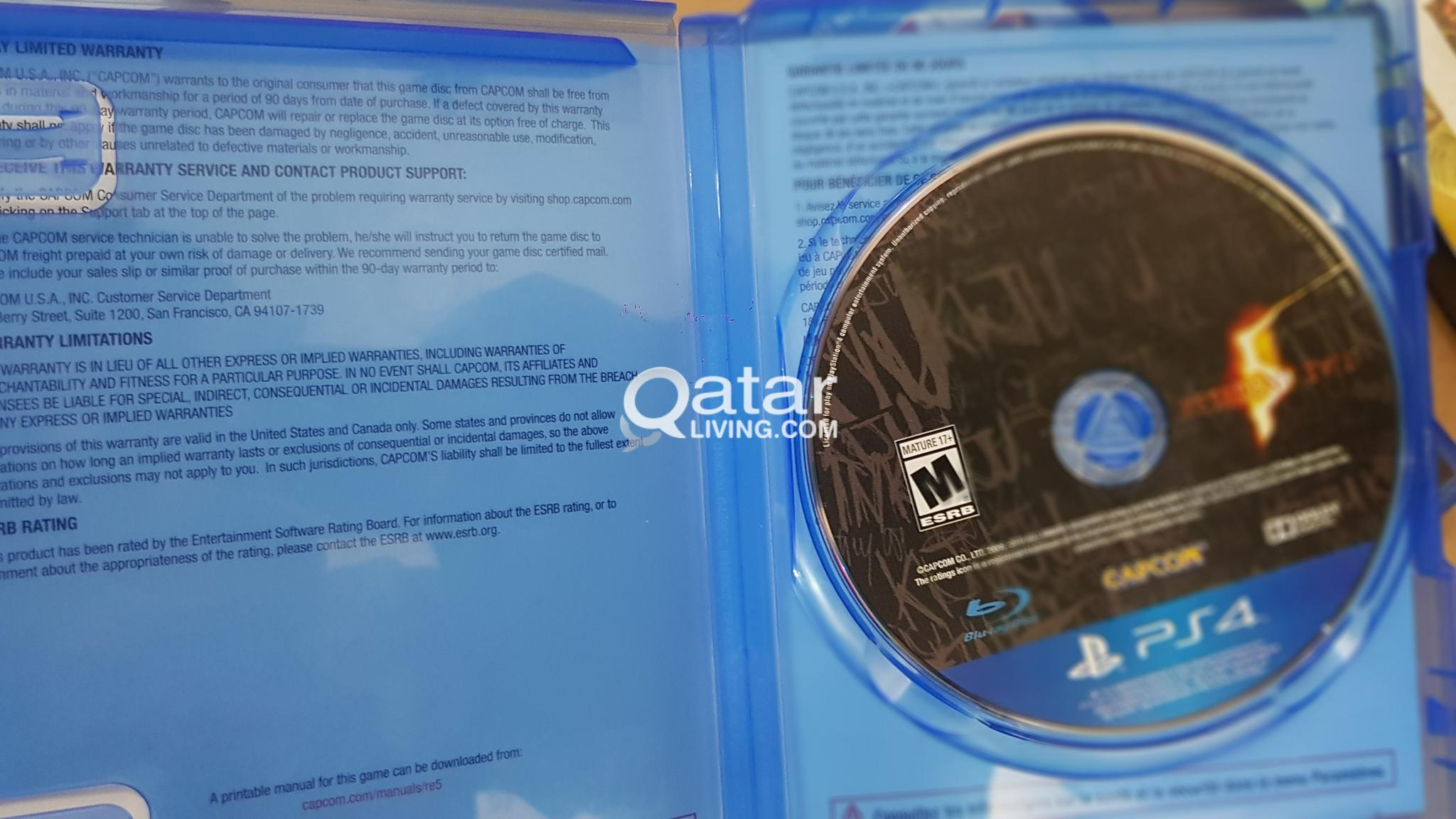 PS4 Games for Sale | Qatar Living