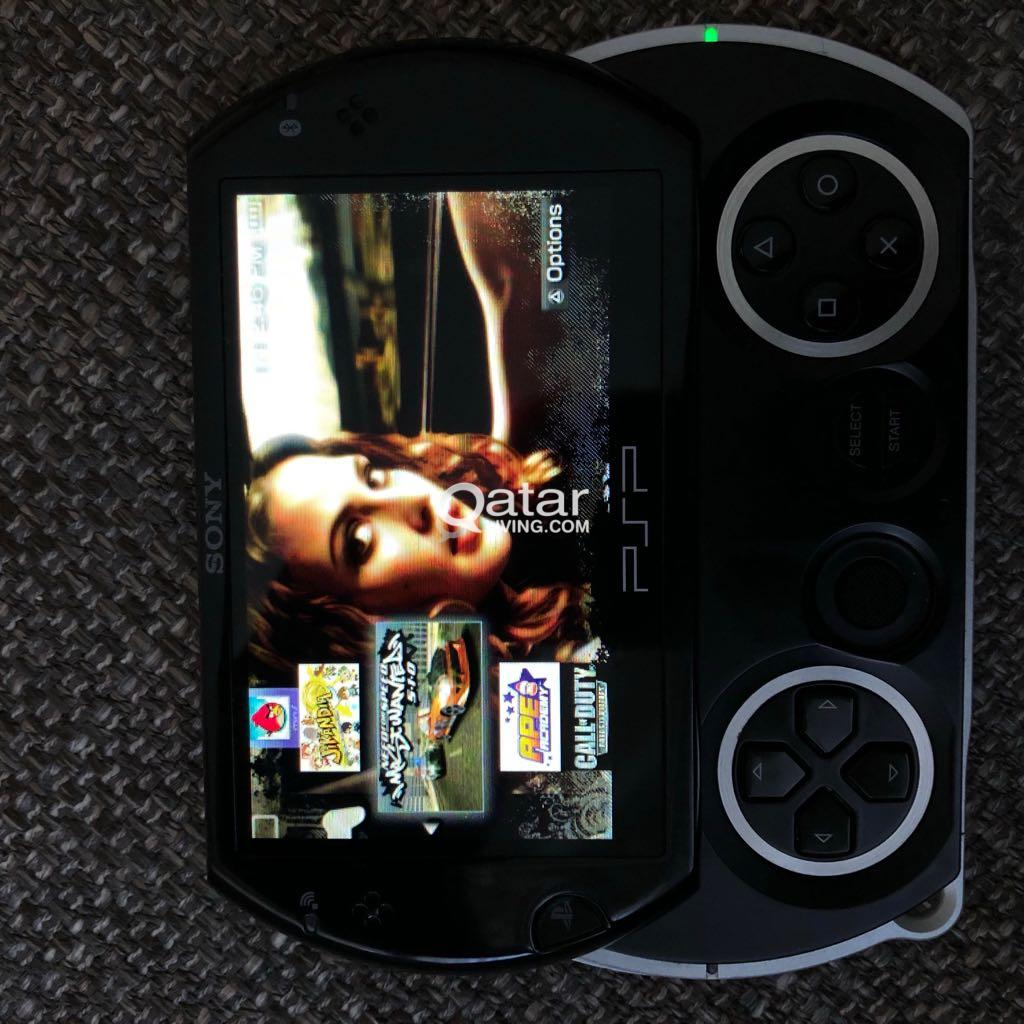 Sony PSP GO slim with 135 Best games | Qatar Living