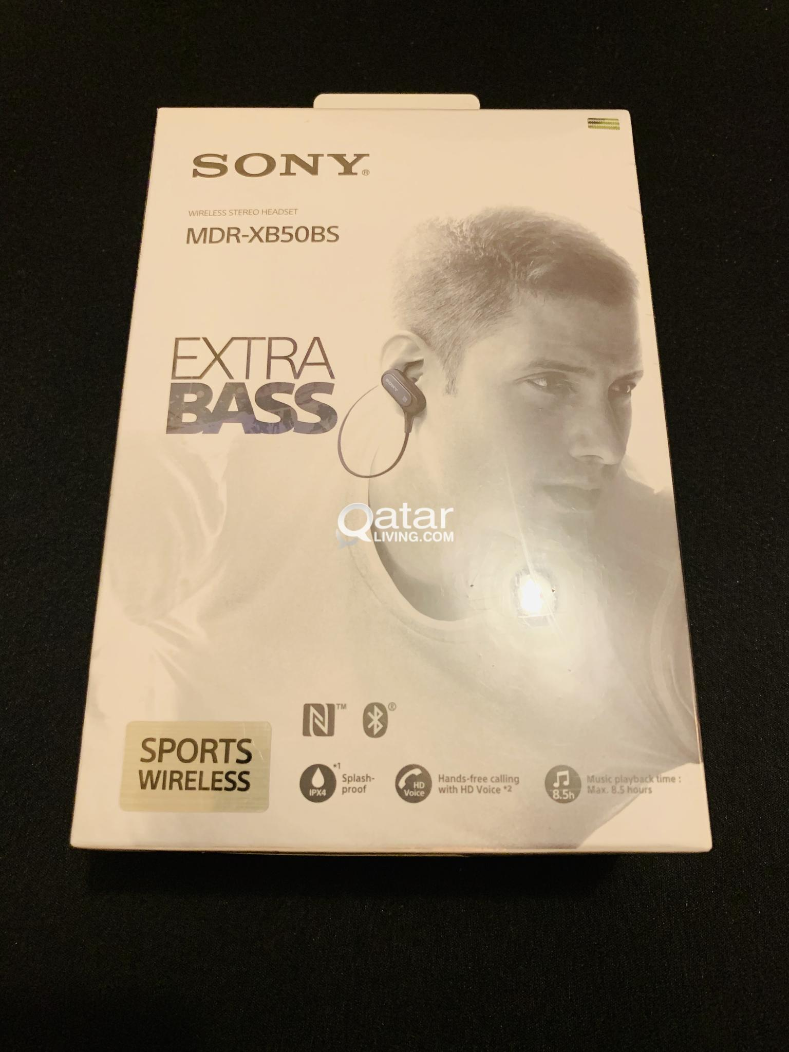 Sony Extra Bass MDR-XB50BS in-Ear Active Sports Wireless Headphones (Brand New)