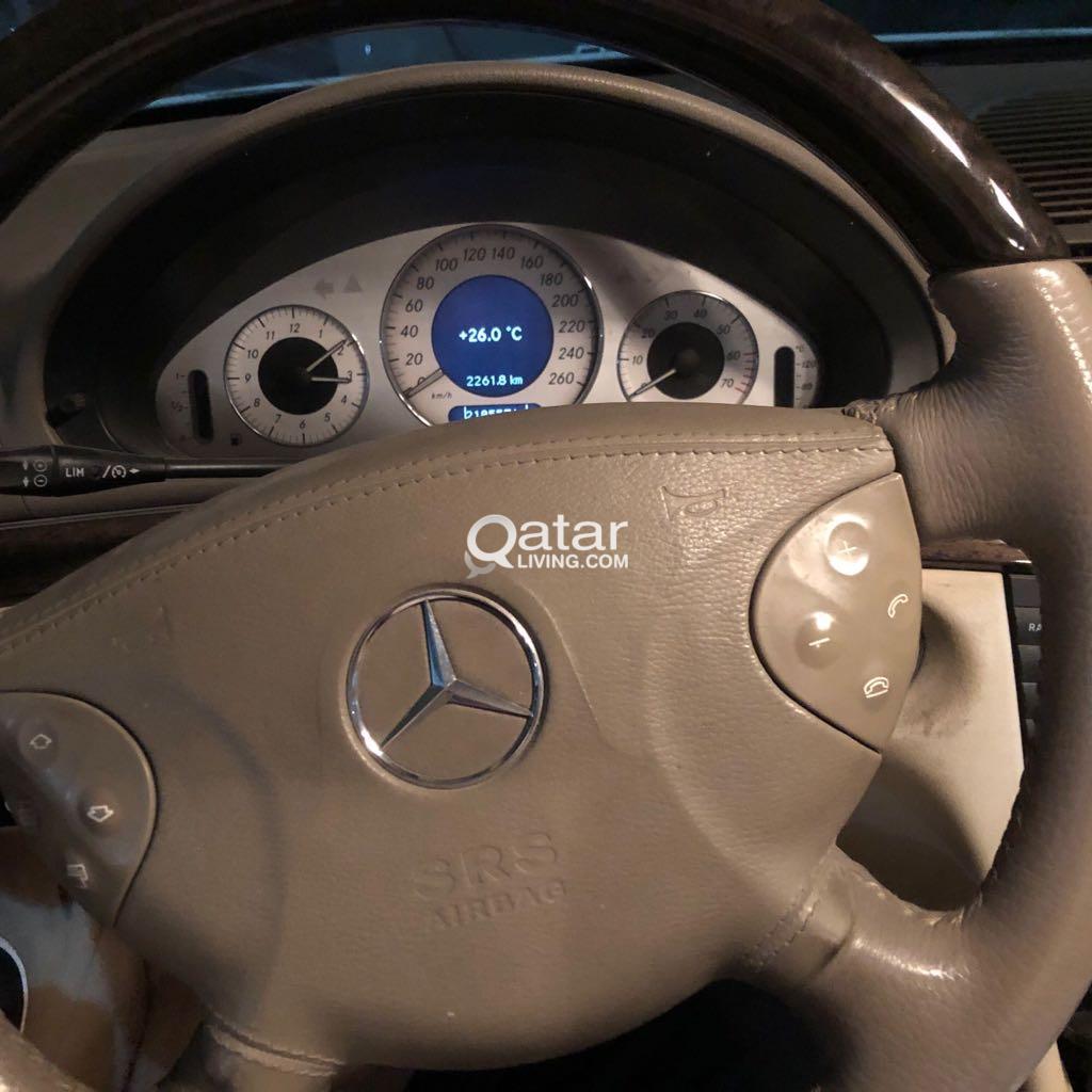 Mercedes E240 model 2004