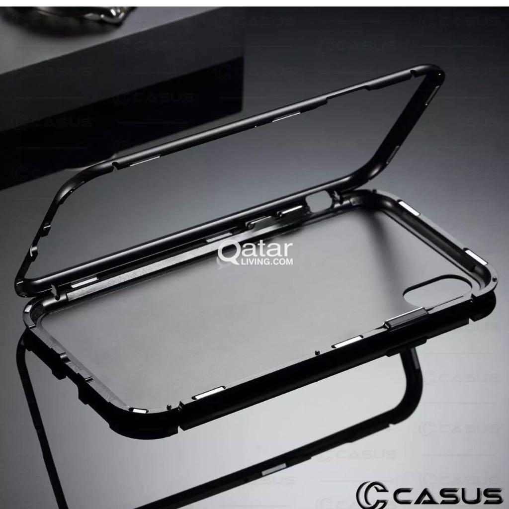 iPhone X 360 Magnetic Adsorption Metal Case for sale