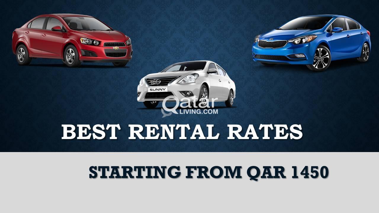 BEST RENTAL RATES