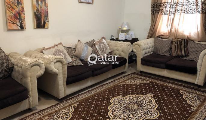 Sofa Set 7 seats 3+2+1+1