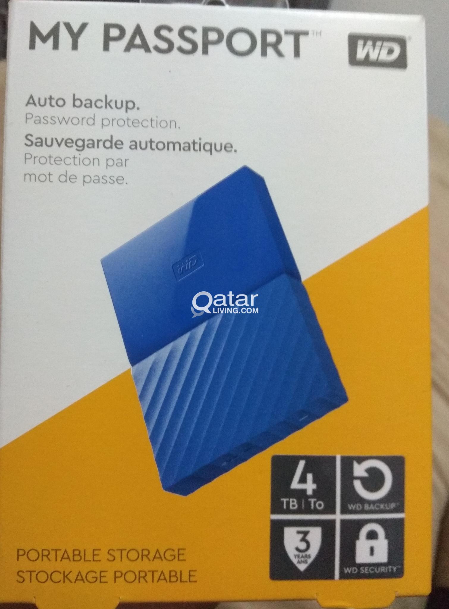 WD Mypassport Ext  Hard disk 4TB | Qatar Living