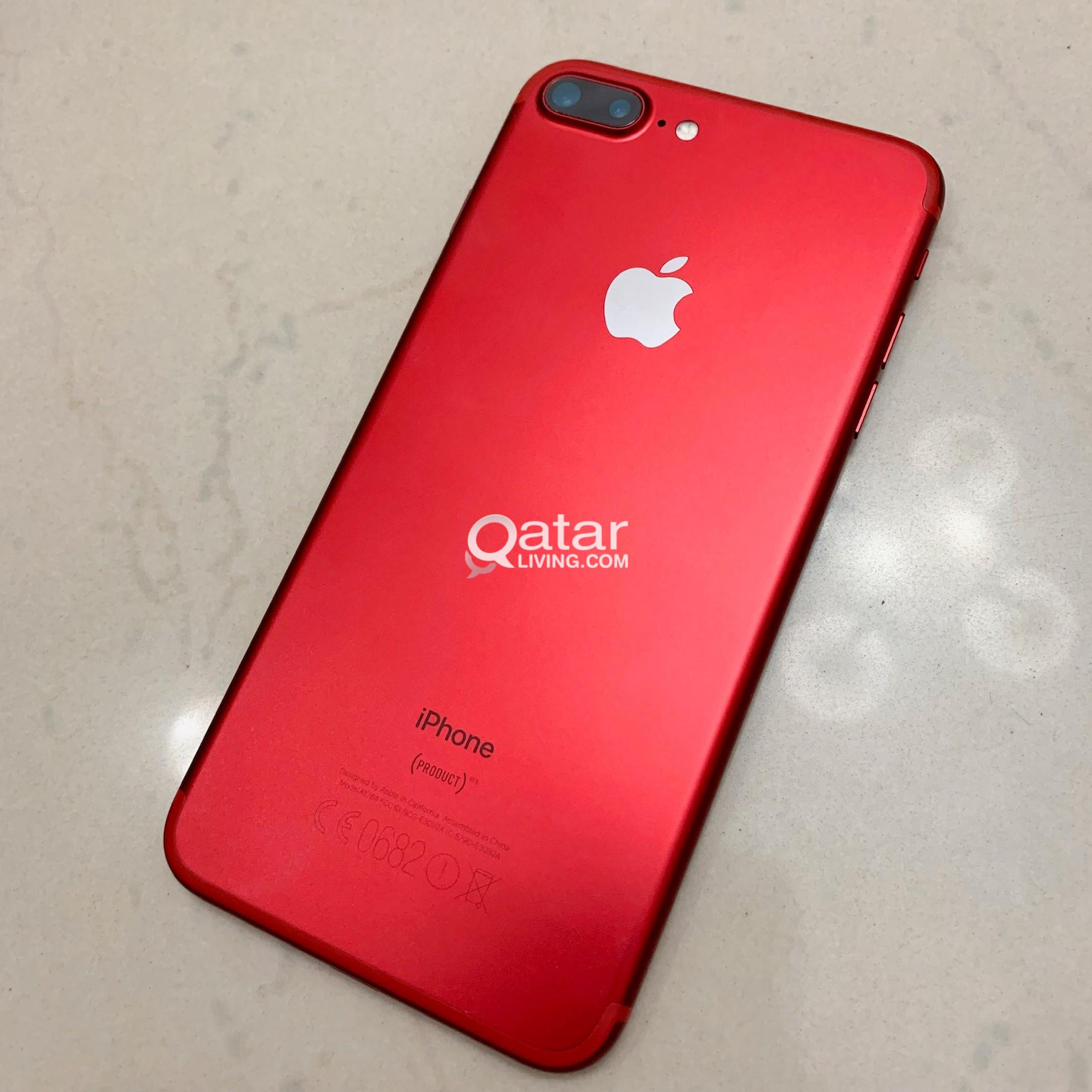 iPhone 7 Plus RED - Limited Edition - 256 GB Memory
