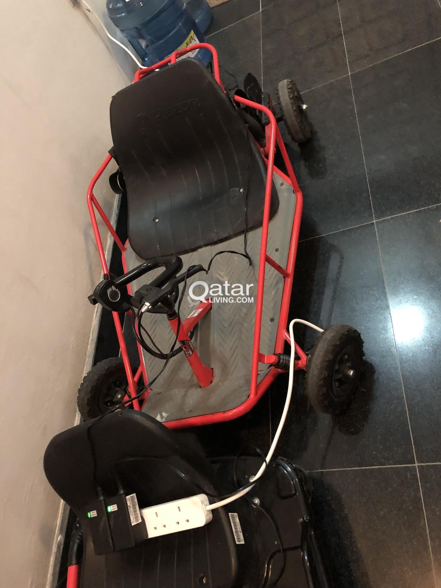 Amazingly Fun Razor Crazy Cart and Dune Buggy | Qatar Living