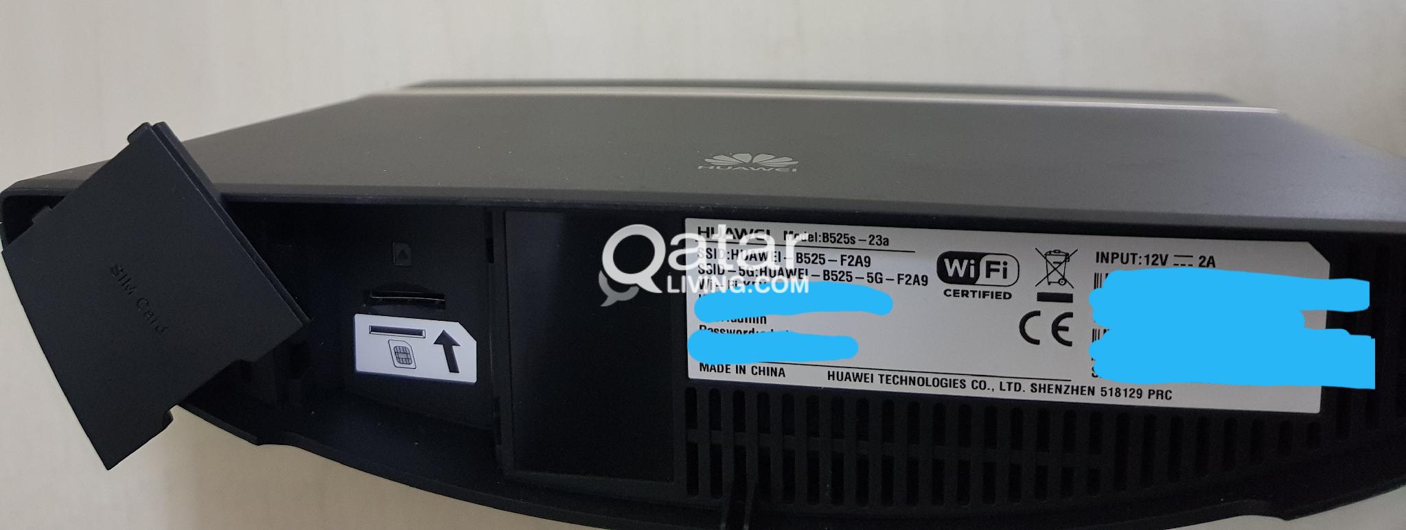 B525s-23a 4G LTE | Qatar Living