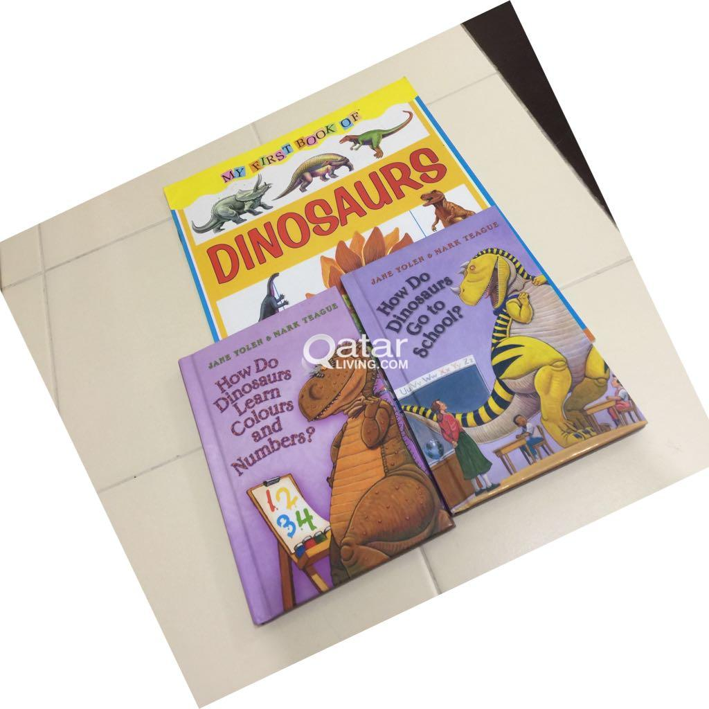 Collection of Dinosaurs books-7