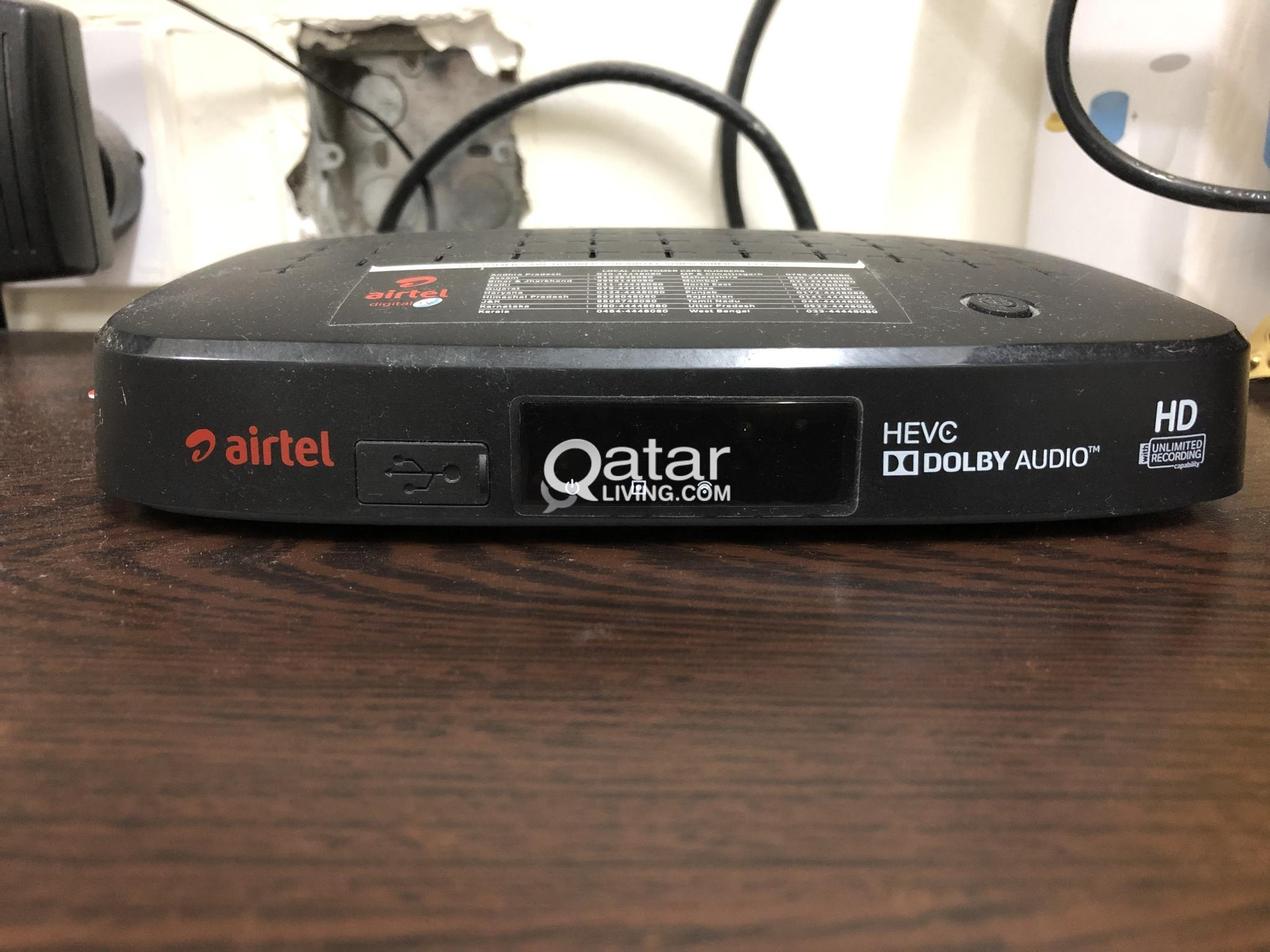 Airtel DTH settop box/receiver For sale | Qatar Living