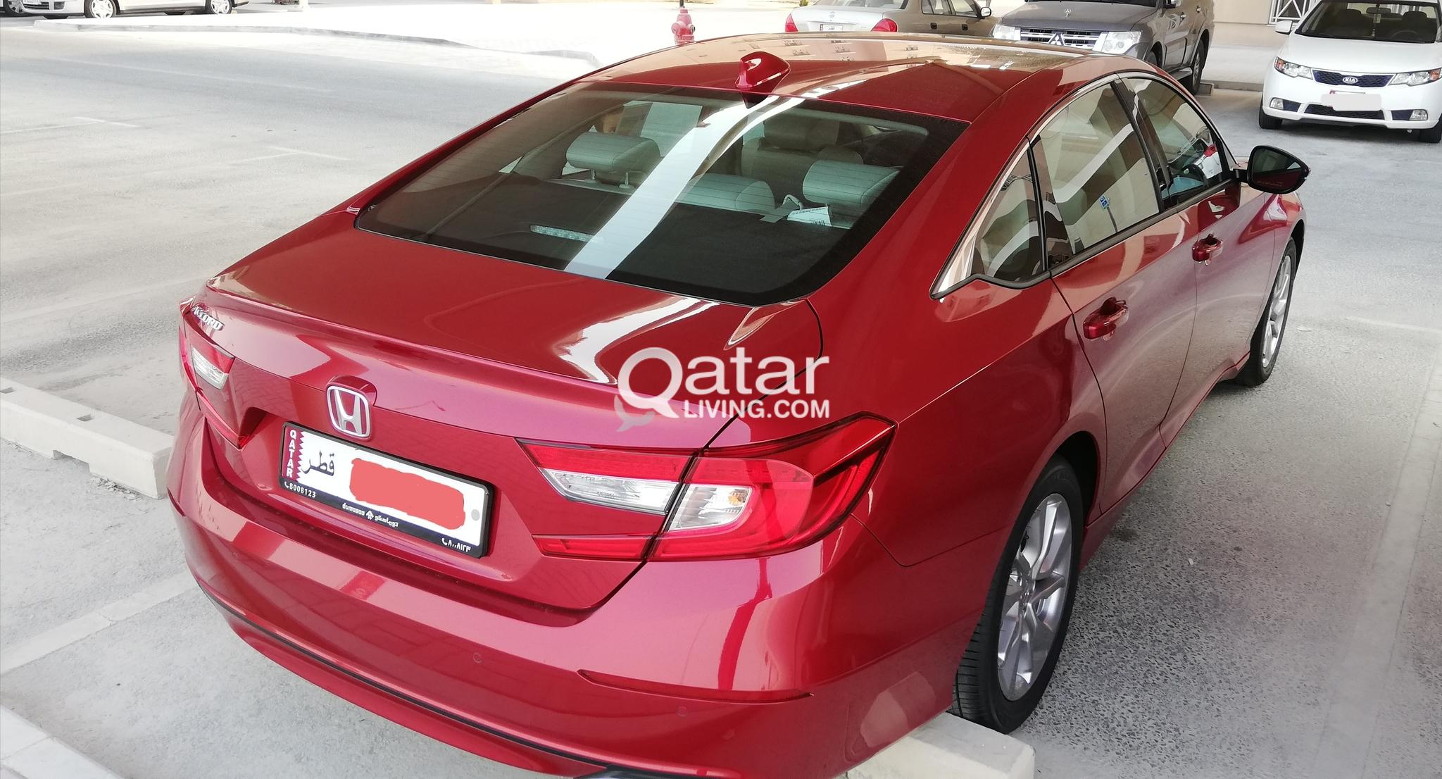 Honda Accord 2018 Red in color