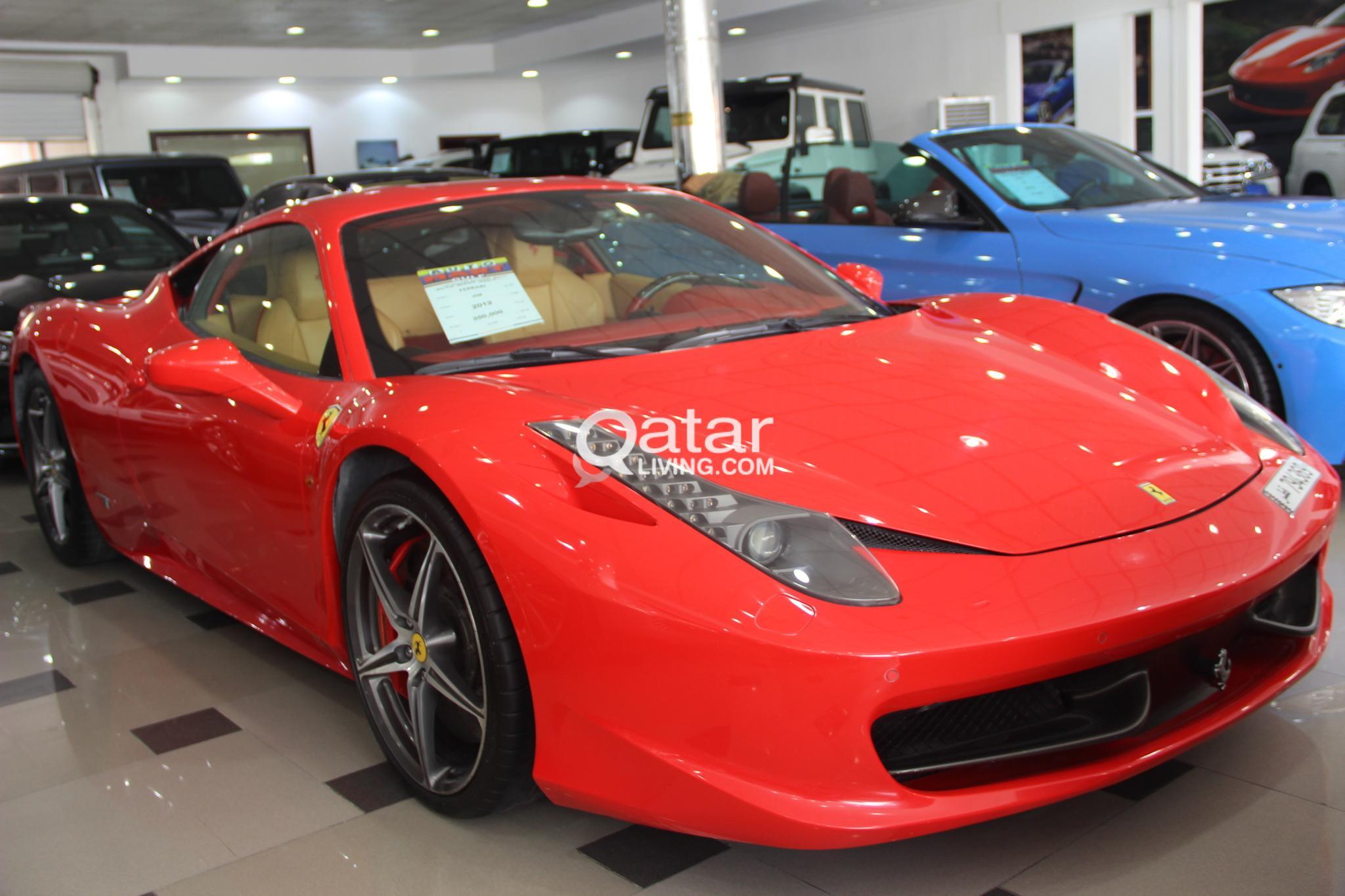 Ferrari 458 2012
