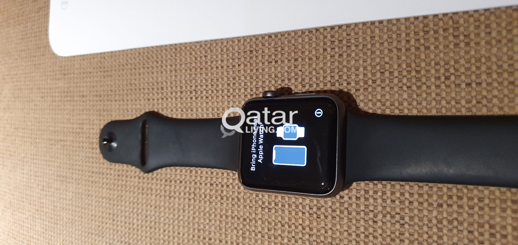 Apple Watch series 3 42mm Gray Aluminium Black