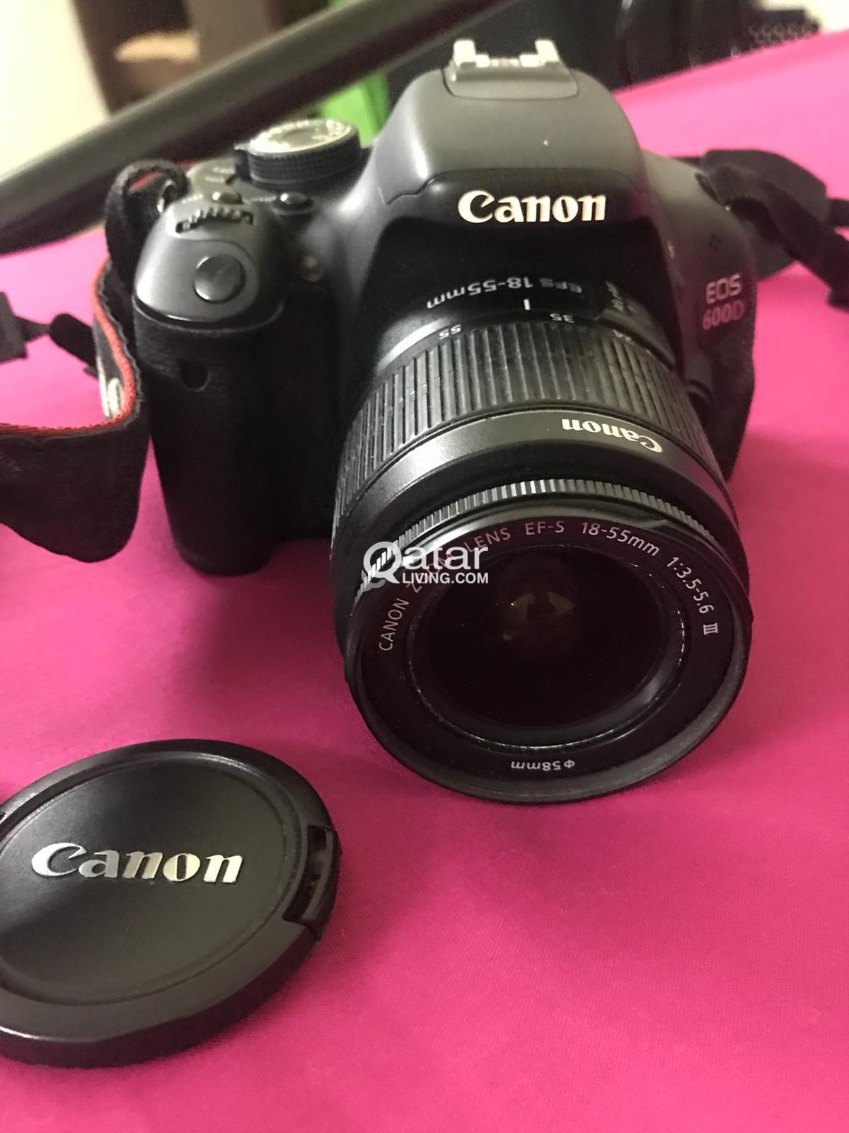 Canon Eos 600d Dslr For Sale Qatar Living