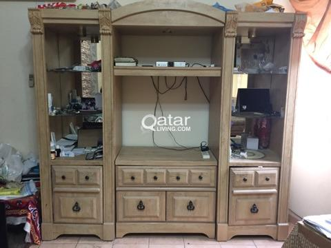 (URGENT)Beautiful Wooden TV Cabinet in very good  condition