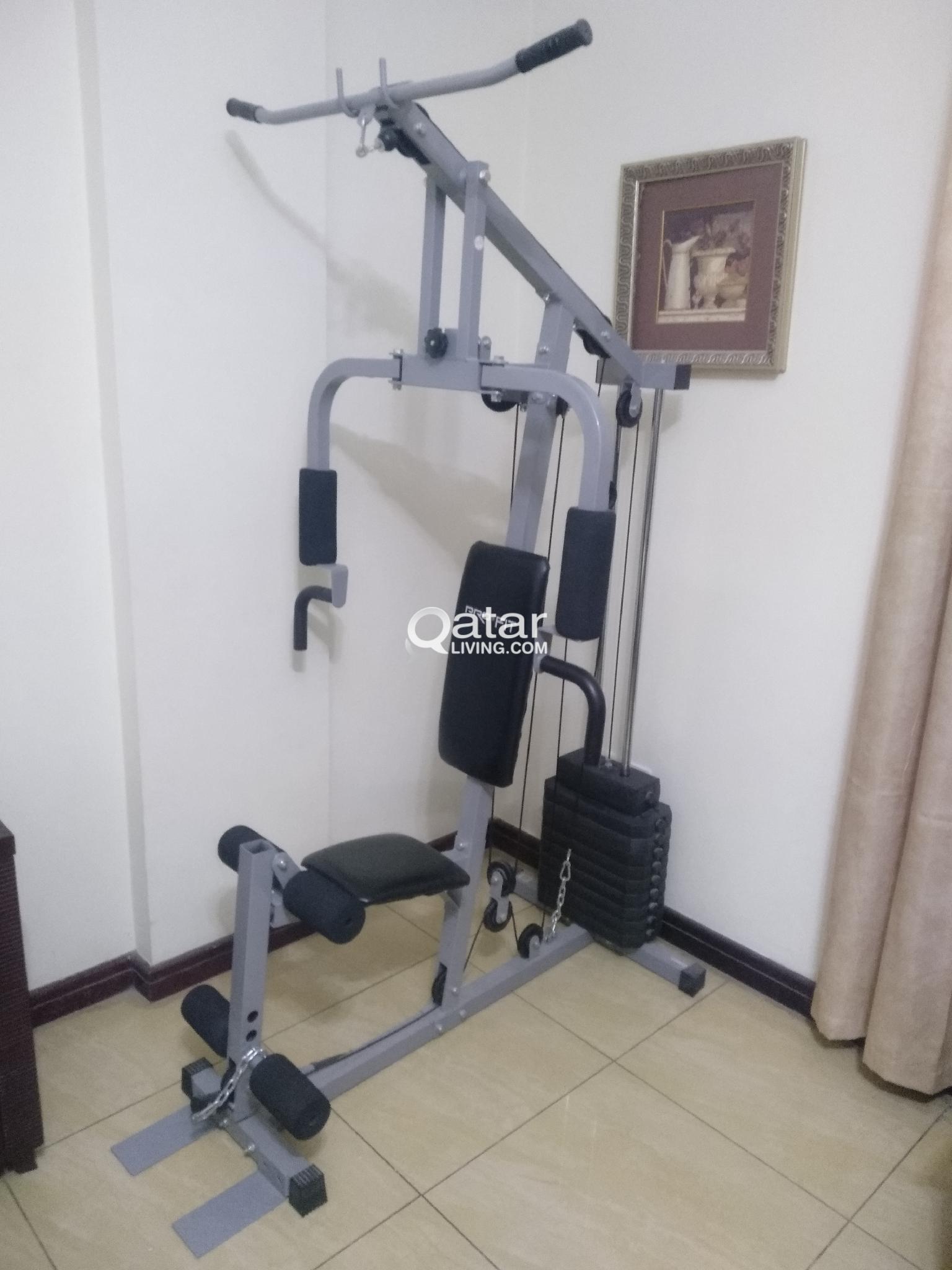 Home gym equipment for sale qatar living