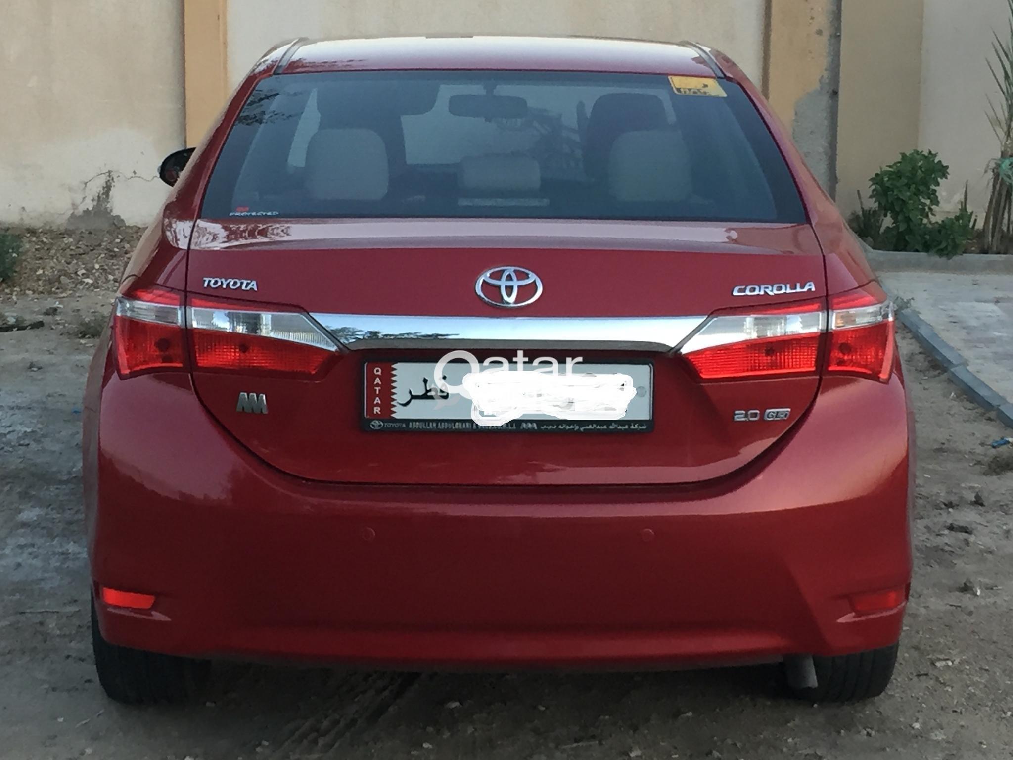 Toyota corolla 2015.Full option