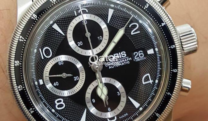 Oris Big Crown Chronograph