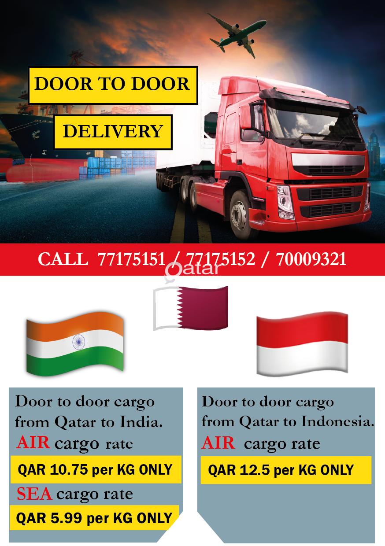 Send Sea cargo from Qatar to India  *Ramadan Offer*   Qatar