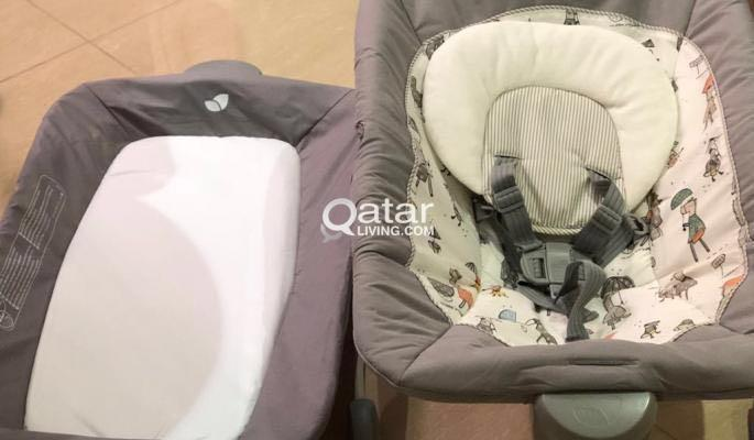 Baby High Chair, Bouncer and Walker