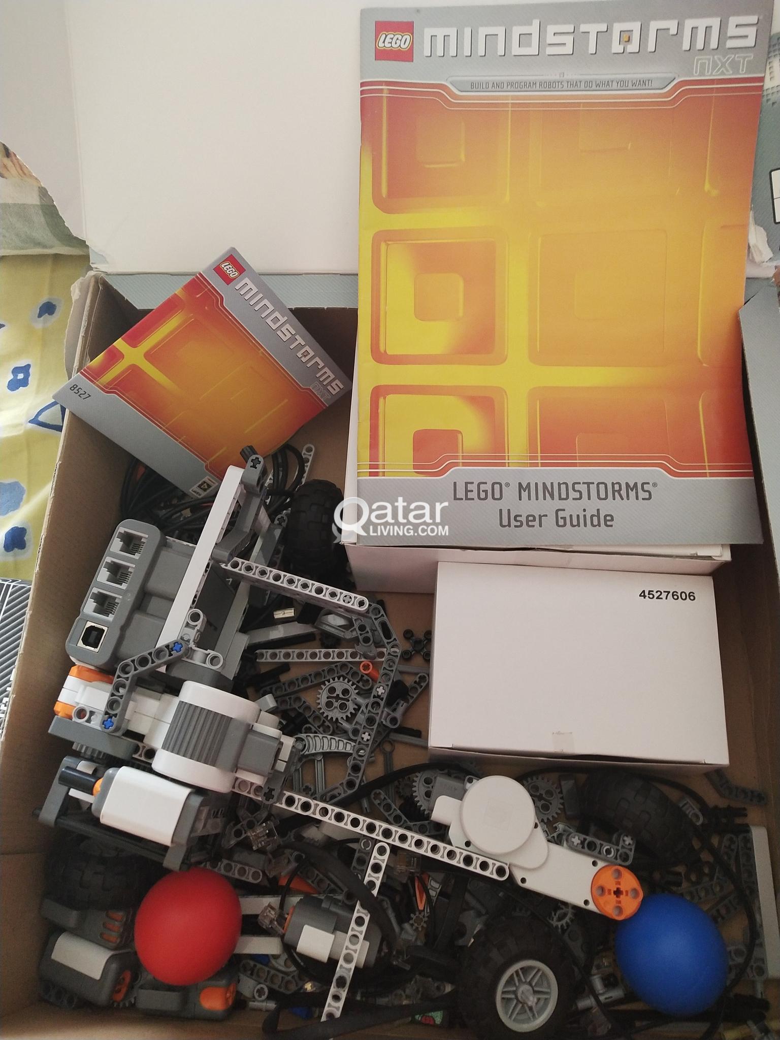 Lego Mindstorm NXT 8527  Kit in box    Qatar Living
