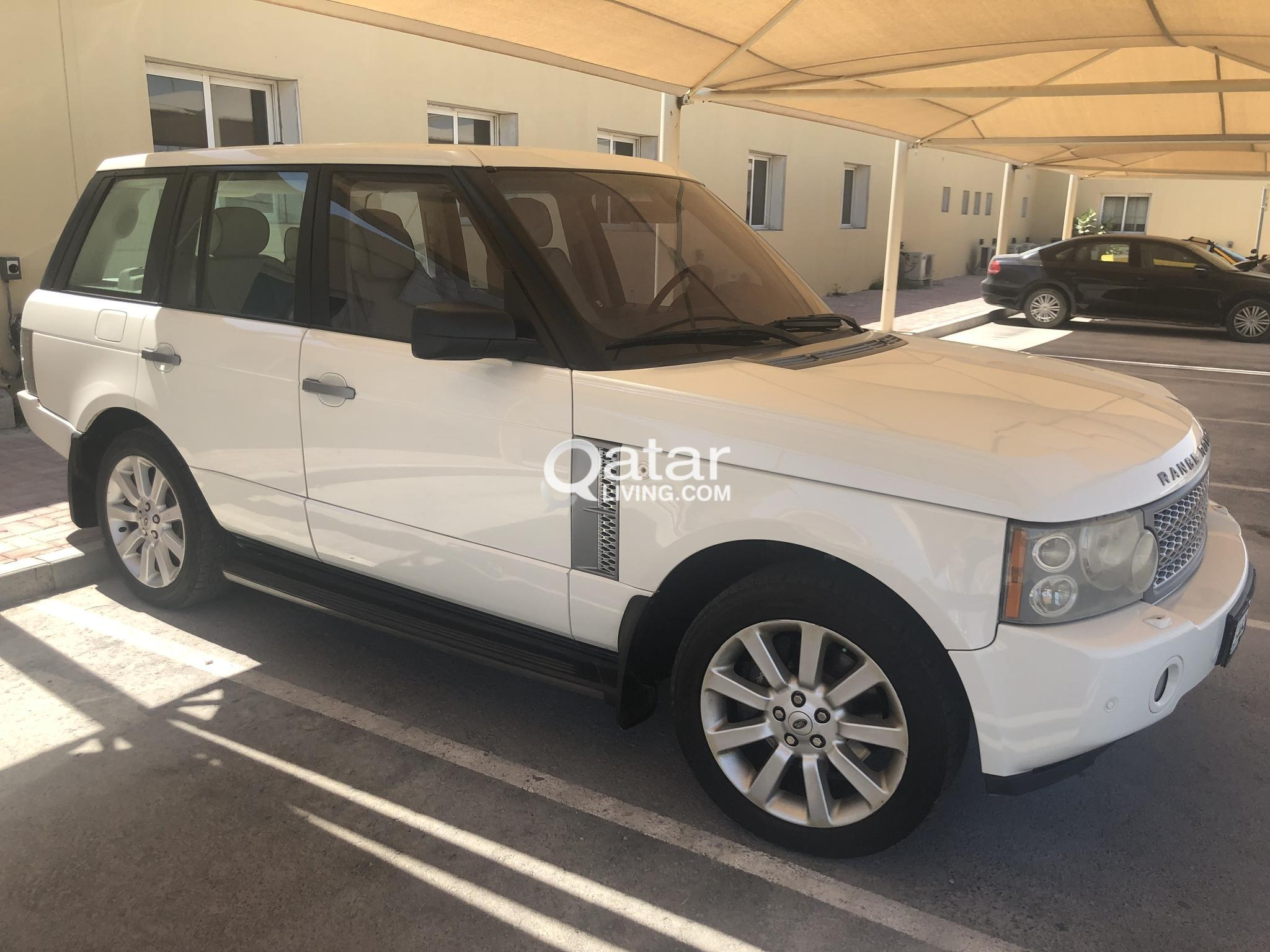 Range Rover Vogue Super charged-WHITE